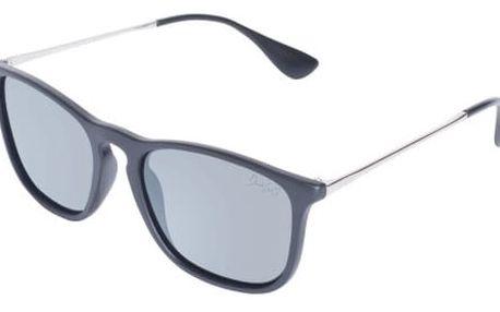 Sluneční brýle s černými obroučkami David LocCo Masstige Preppy