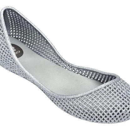 Zaxy stříbrné balerínky Amora Fem Silver
