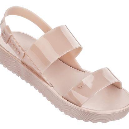 Zaxy béžové sandály Clubber Sand Plat Nude