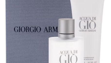 Giorgio Armani Acqua di Gio Pour Homme dárková kazeta pro muže toaletní voda 50 ml + balzám po holení 75 ml