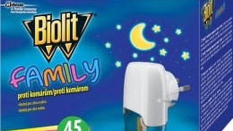 BIOLIT FAMILY elektrický odpařovač s tekutou náplní 45 nocí