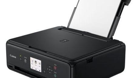 Tiskárna multifunkční Canon TS5050 (1367C006AA) černá A4, 12str./min, 9str./min, 4800 x 1200, duplex, WF, USB