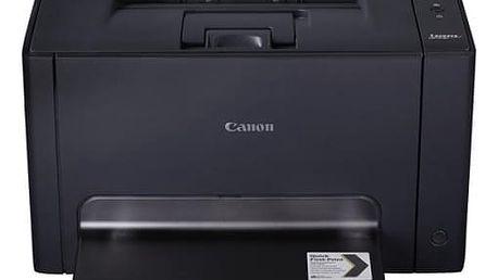 Tiskárna laserová Canon LBP7018C (4896B004) černá A4, 16str./min, 4str./min, 600 x 600, 16 MB, USB