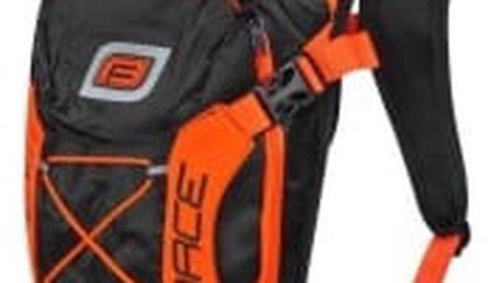 FORCE Aron Pro 10 l černo-oranžový cyklobatoh