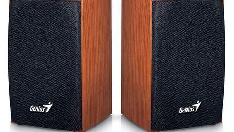 Reproduktory Genius SP-HF160 2.0 (31731063101) imitace dřeva