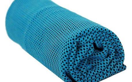 Chladicí ručník modrá, 70 x 30 cm