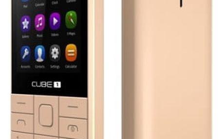 Mobilní telefon CUBE 1 F300 zlatý