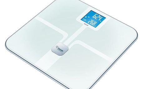 Beurer diagnostická váha s BT přenosem (ITO povrch), bílá - BEU-BF800WH