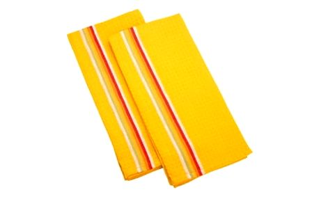 Utěrka na nádobí PRESTO TONE 70x50 cm, 2 ks, mix, žlutá