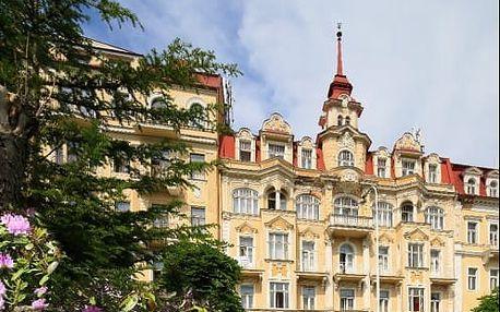 Regenerace Mariánské Lázně v hotelu Fontána s polopenzí a spoustou procedur