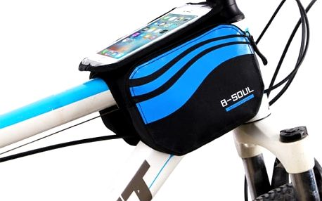 Cyklistická brašna s průzorem na telefon - 4 barvy