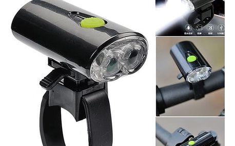 LED světlo na kolo s USB nabíjením