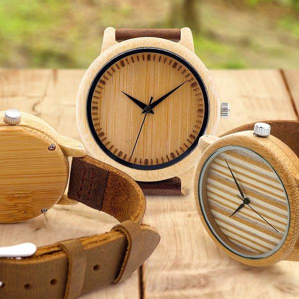 Designové dřevěné hodinky Bobo Bird