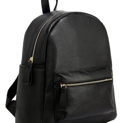Černý batoh L&S Bags Bezons