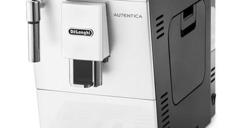 Espresso DeLonghi Autentica ETAM29.510.WB černé/bílé + dárky Káva zrnková DeLonghi Kimbo Arabica 1kg + Káva zrnková Simon Lévelt BIO Uganda 250 g v hodnotě 758 Kč + DOPRAVA ZDARMA