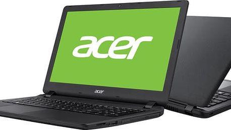 """Acer Aspire ES15 (ES1-533-C0V8), černá - NX.GFTEC.011 + Acer Starter KIT - Sada příslušenství k notebooku - 15.6"""" - černá"""