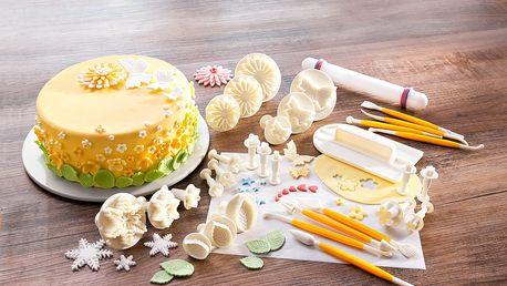 Sada pomůcek na zdobení dortů, 32 dílů