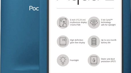 PocketBook AQUA 2, modrá - EBKPK1542