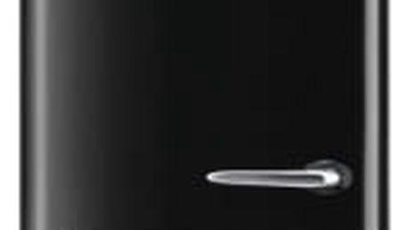 Kombinace chladničky s mrazničkou Gorenje Retro ORK192BK-L černá