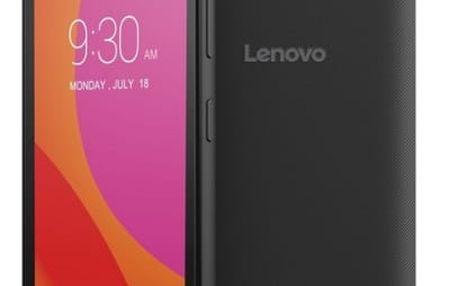 Mobilní telefon Lenovo B Single SIM (PA4R0061CZ) černý