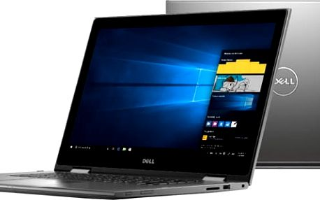 Dell Inspiron 15z (5578) Touch, šedá - TN-5578-N2-711S