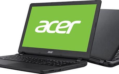 """Acer Aspire ES 15 (ES1-533-C0V8 Celeron N3350/4GB+N/A/500 GB+N/DVDRW/HD Graphics/15.6"""" FHD LED matný/BT/Linux/Black"""