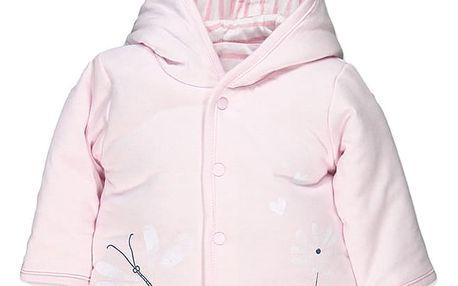 BOBOLI Oboustranný kabátek, vel. 62 cm - růžová, holka