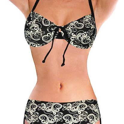 Oriente dvojdílné plavky s kosticí