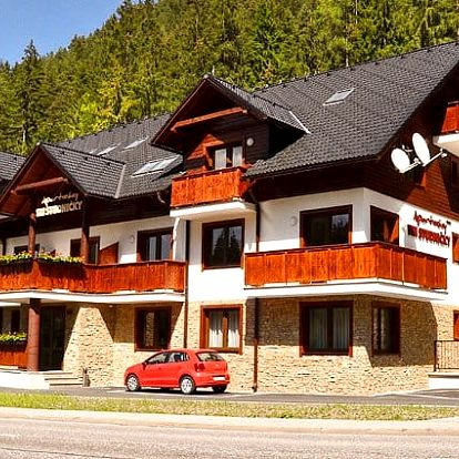 3–8denní podzimni pobyt v apartmánech Tri Studničky*** v Tatrách pro 2 až 4+1 osoby