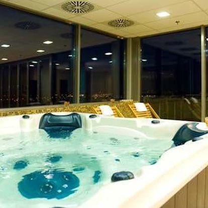 Budapešť ve 4* hotelu s neomezeným vstupem do wellness a fitness