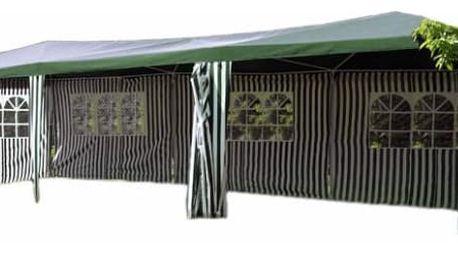 Garthen 408 Zahradní stan - zelený, 3 x 9 m
