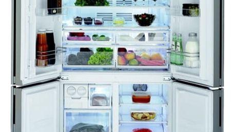 Kombinace chladničky s mrazničkou Beko GNE 114613 X nerez
