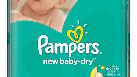 Plenky Pampers New Baby-dry Mini vel. 2, 228ks + Doprava zdarma