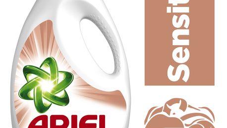 ARIEL Sensitive 1,3 l (20 dávek) - tekutý prací prostředek