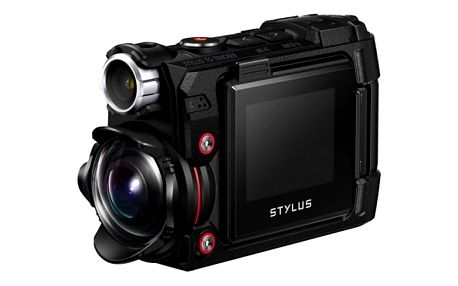 Outdoorová kamera Olympus TG-Tracker černá + dárek