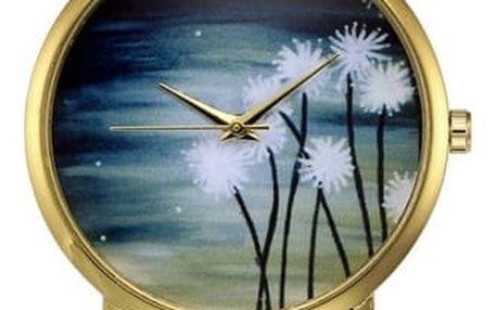 Dámské hodinky s obrázkem noční oblohy - 3 barvy