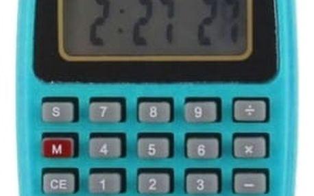 Silikonové hodinky s kalkulačkou