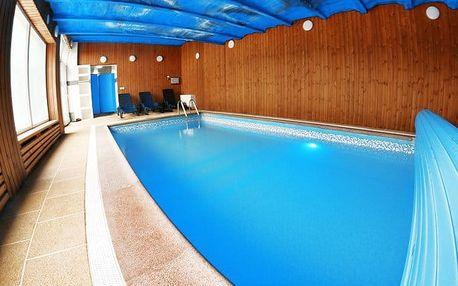 3 až 5denní wellness pobyt pro 2 osoby s polopenzí v penzionu Grasel na Vysočině