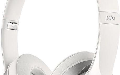 Beats By Dr. Dre Solo 2, bílá - MH8X2ZM/A