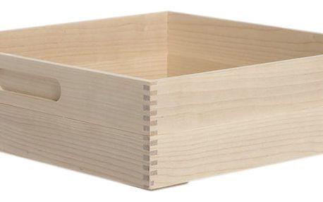 Box na pečivo Iris Hantverk Birch, výška 8,4cm