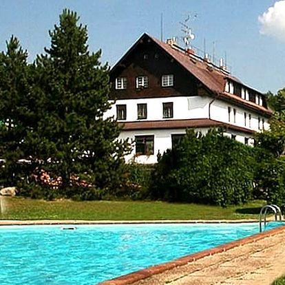3denní pobyt s polopenzí ve Wellness&Relax hotelu Hrazany, sauna, zábaly, oxygenoterapie aj.