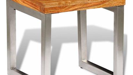 Konferenční stolek z masivního dřeva V2123 Dekorhome
