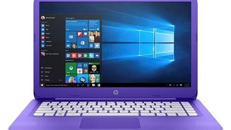 Notebook HP Stream 14-ax002nc (Z3C49EA#BCM) fialový