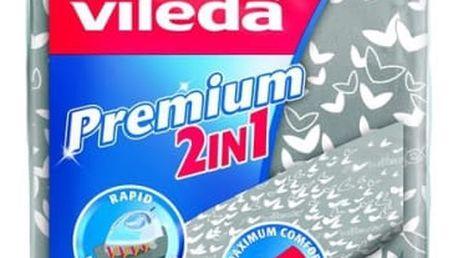 Příslušenství pro žehličky Vileda Viva Express Premium 2v1 stříbrné