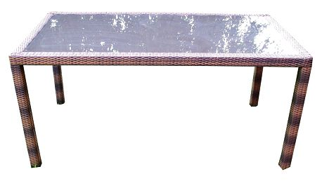 Zahradní stolek Amigo Toledo, hnědý