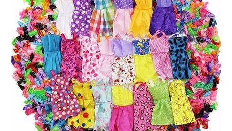 Mini šatičky a botičky pro panenky - 12 ks