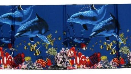 Skládací plážové molitanové lehátko Trieste-7 180 x 54 x 3 cm