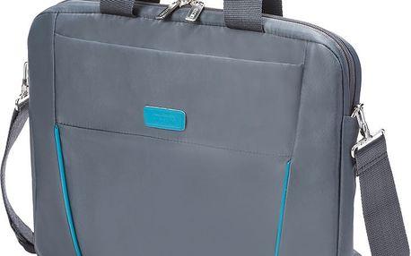 """DICOTA Slim Case BASE 12-13.3"""", šedá/modrá - D30994"""