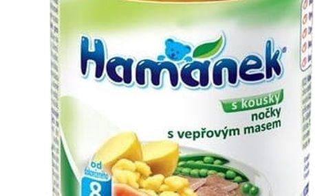 6x HAMÁNEK Nočky s vepřovými kousky (230 g) - maso-zeleninový příkrm