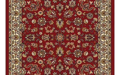 Spoltex Kusový koberec Samira 12002 red, 80 x 150 cm